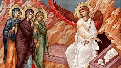 Myrrh Bearing-Women At The Tomb